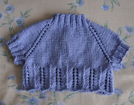 Free Knitting Pattern For Girls Bolero : GIRL KNIT PATTERN SHRUG Free Patterns