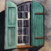 French shutters - original SOLD