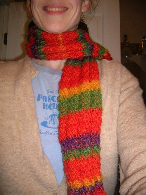 Becca's scarf