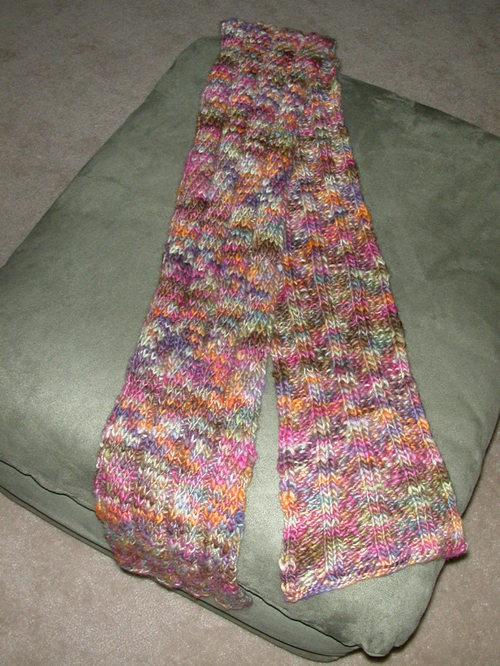 Kristen's scarf