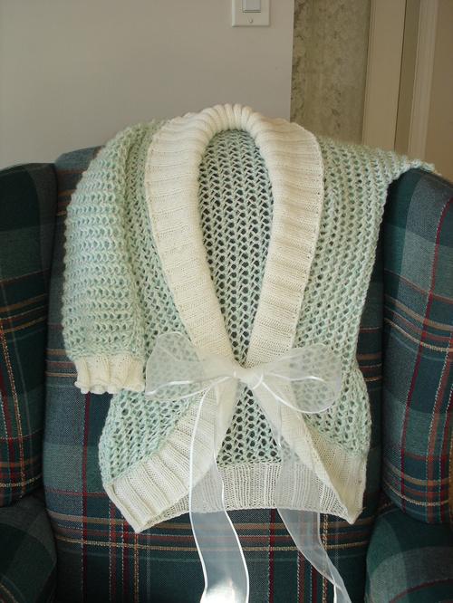 The wedding sweater