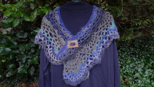 Crochet Lacy Wrap