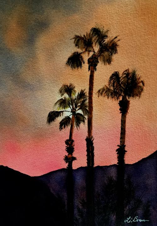 Dusky Palms