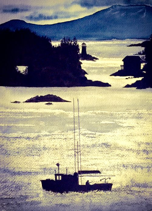 Sitka, Alaska - Returning Home - SOLD