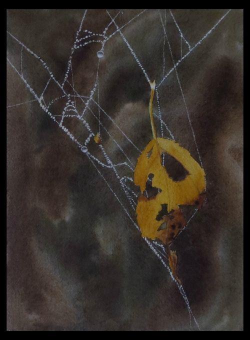 Autumn Web - SOLD
