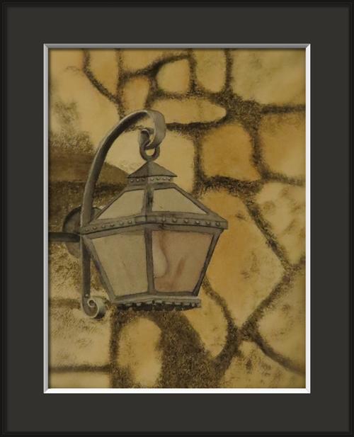 Alamo lantern