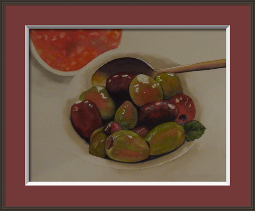 Olives and Salsa