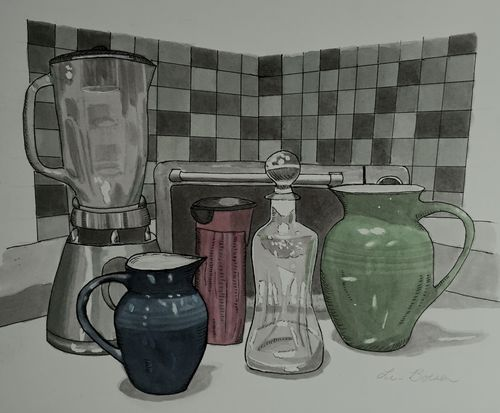 Handles and spouts - my kitchen